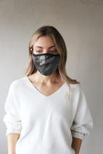 Breathe Adult Filter Face Mask in Grey Camo