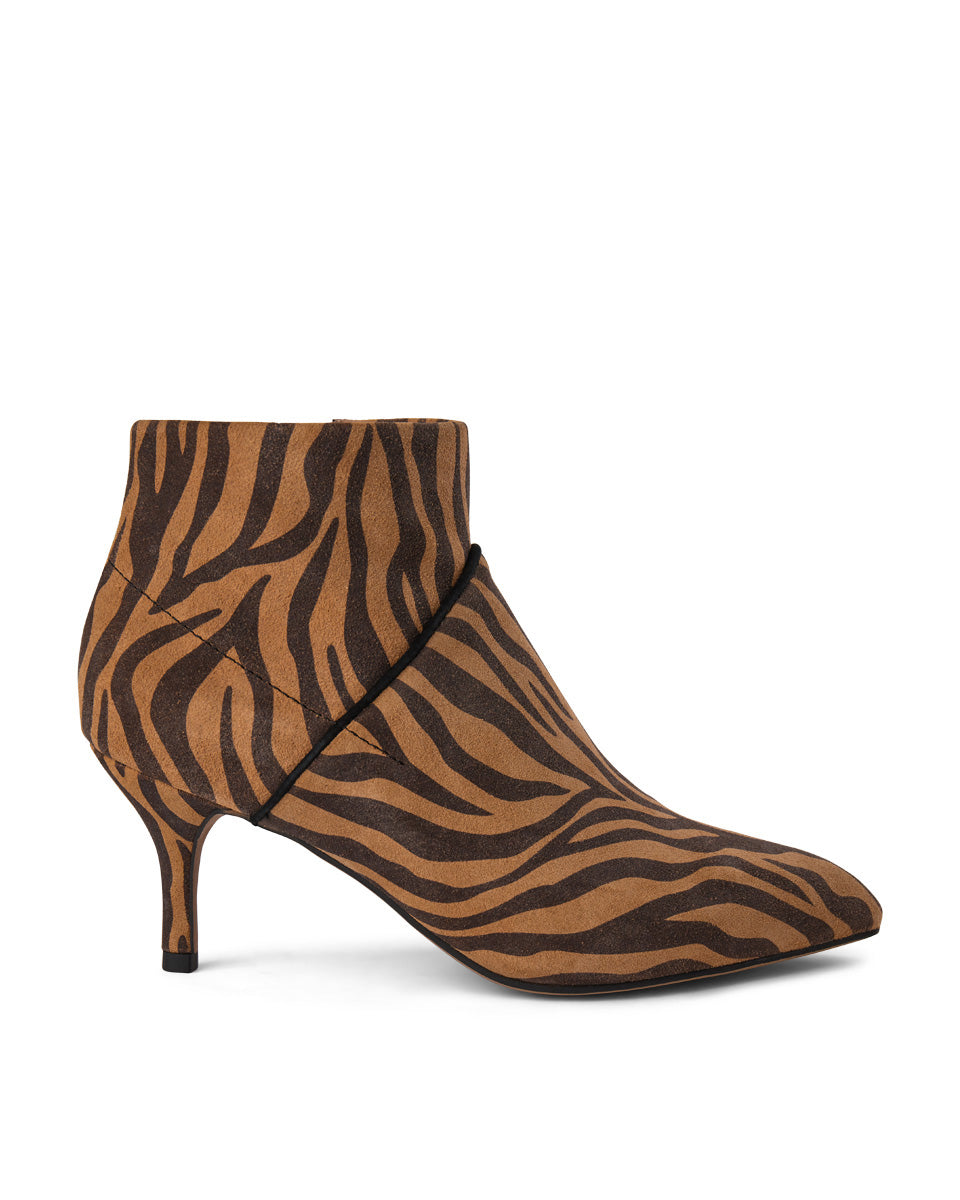 Shoe The Bear Valentine Zebra in Brown