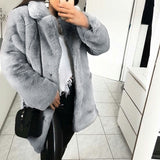 Plush Teddy Coat