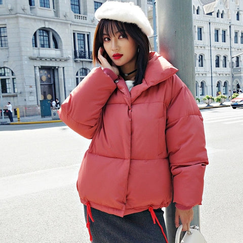 Oversized Trendy Down Coat