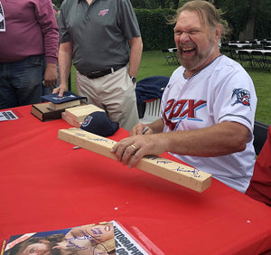 Signed 8x10 Hacksaw's Pick