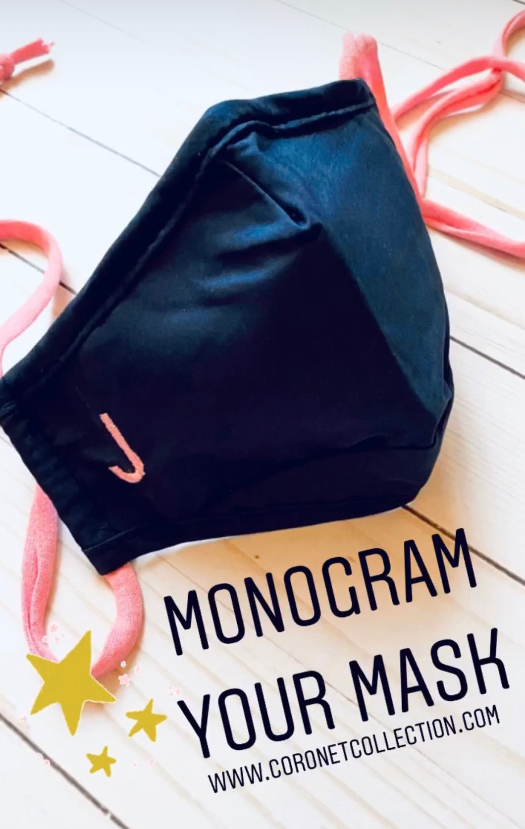 Monogram Your Mask!