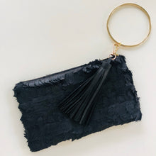 Load image into Gallery viewer, Black Raven Wristlet