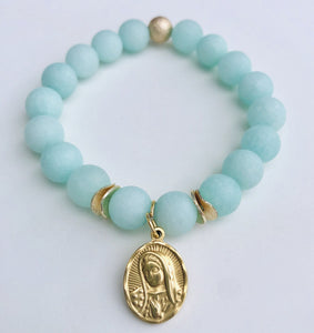 Mother Mary Bracelets - multiple colors