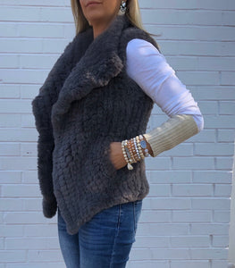 Coronet Collection - Signature Faux Fur Vest