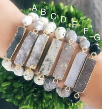 Load image into Gallery viewer, Crystal Bar Bracelet