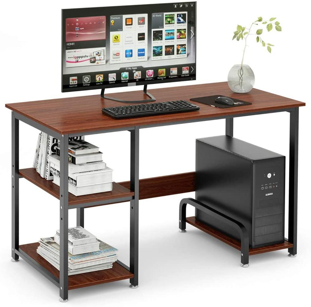 "47"" Cool Gaming Desk with a Hutch Workstation & Storage Shelf - Sam's Gaming Store"