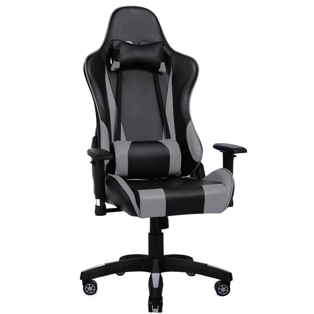 Gaming Chair High Back Racing Chair Reclining Ergonomic Adjustable Swivel Task Chair with Headrest - Sam's Gaming Store