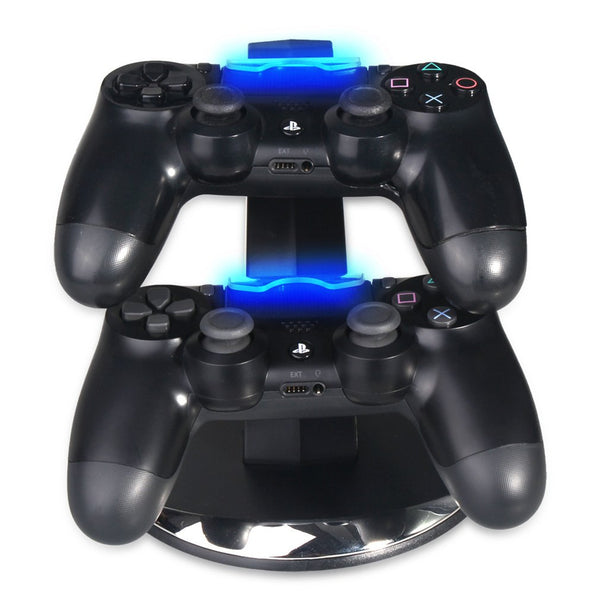 PS4 Slim Pro Dual Charging Controller Charging Dock Stand - Sam's Gaming Store