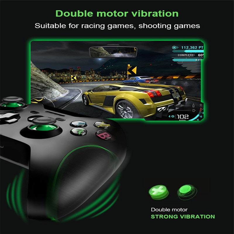 Wireless Game Controller with Joystick for Xbox One, PS3, Android, and PC - Sam's Gaming Store