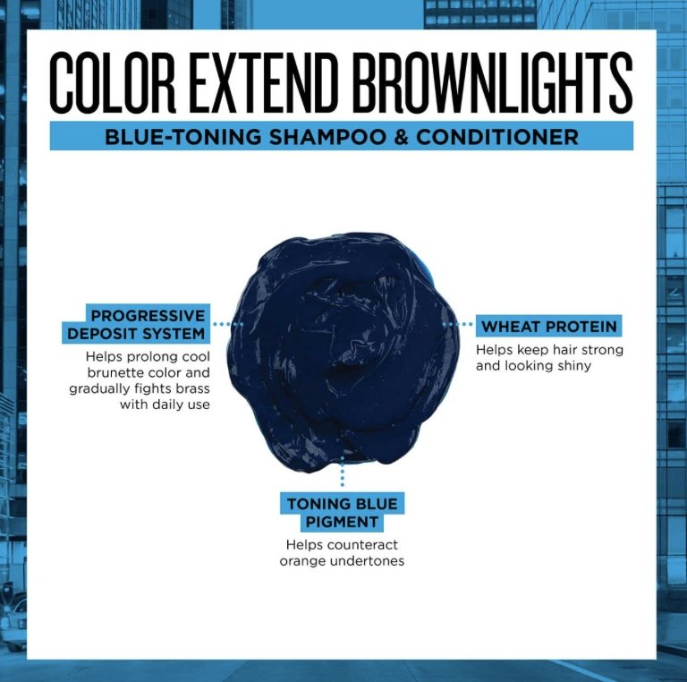 Brownlights Color Extend Sulfate-Free Anti-Brass Shampoo - Shop Beauty By Elayne James