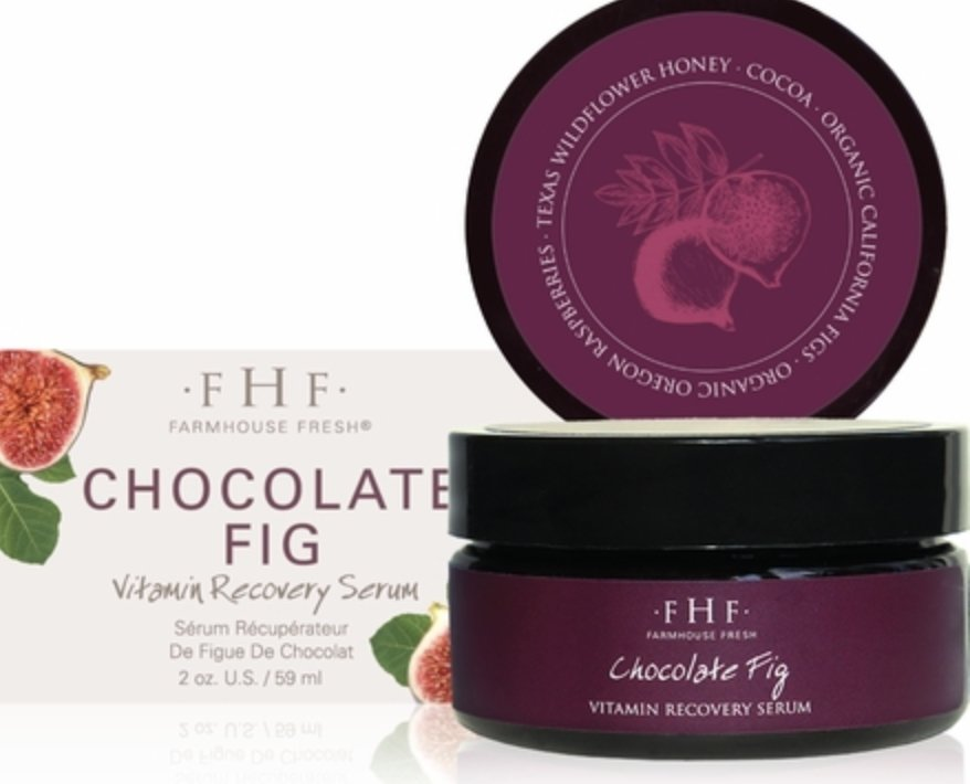 Chocolate Fig Vitamin Recovery Serum For Face - Shop Beauty By Elayne James