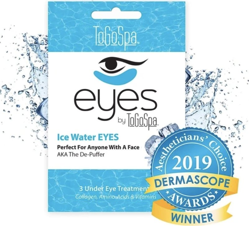 Ice Water EYES by ToGoSpa - The De-Puffer - 3 treatments - Shop Beauty By Elayne James