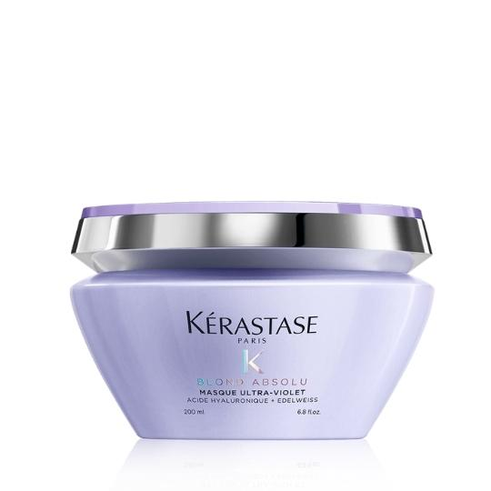 Kerastase Blond Absolu Masque Ultra-Violet Purple Hair Mask - Shop Beauty By Elayne James