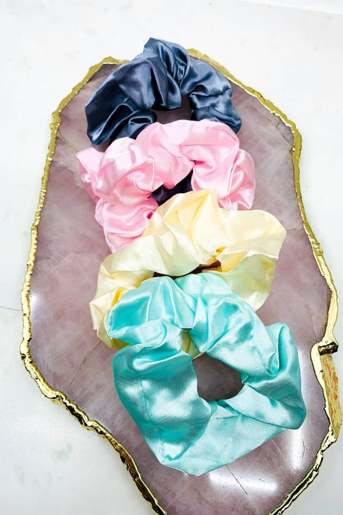 Multi Pack Scrunchies - PRE-ORDER - Shop Beauty By Elayne James