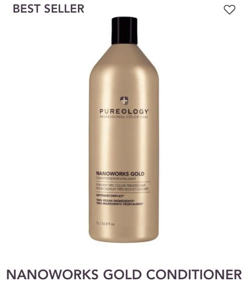 Nanoworks Conditioner Liter Pureology - Shop Beauty By Elayne James