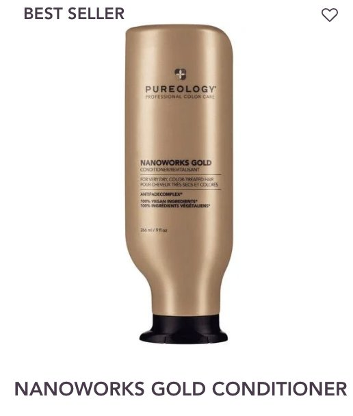 Nanoworks Conditioner Pureology - Shop Beauty By Elayne James