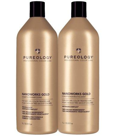 Nanoworks Shampoo & Conditioner Liter Duo Set - Shop Beauty By Elayne James