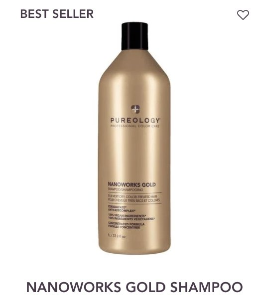Nanoworks Shampoo Liter Pureology - Shop Beauty By Elayne James