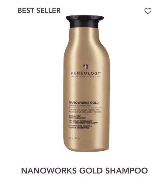 Nanoworks Shampoo Pureology - Shop Beauty By Elayne James