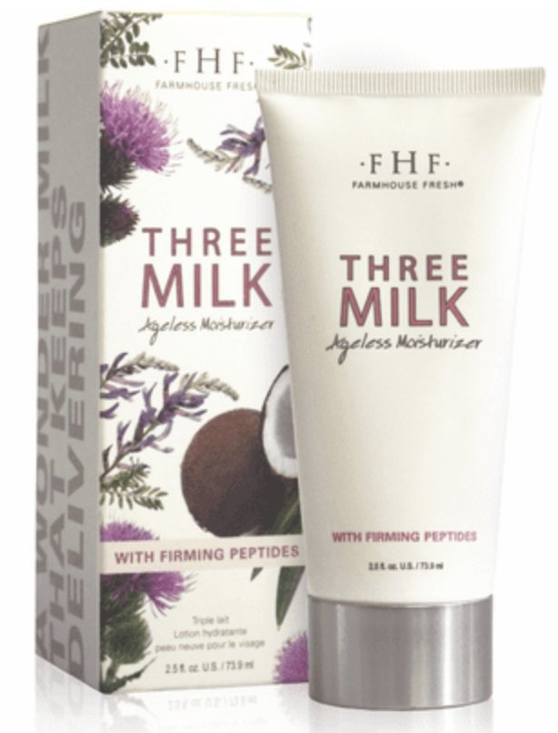 Three Milk Ageless Moisturizer - 3 BOTANICAL MILKS, 1 PRETTY FACE. - Shop Beauty By Elayne James
