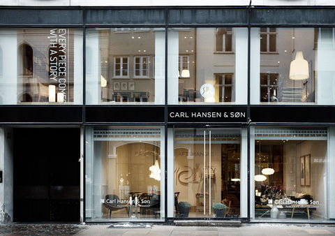 Carl Hansen & Son Exterior Shot Products Available at Palette and Parlor