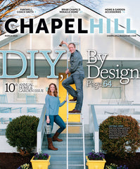 Palette and Parlor in Chapel Hill Magazine