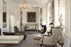 Palette and Parlor on Dering Hall Modern Meets Traditional