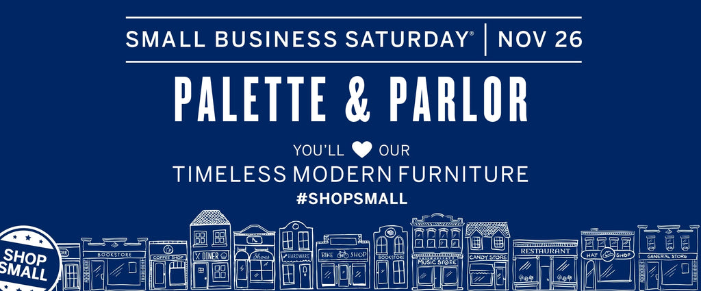 #ShopSmall at PALETTE & PARLOR