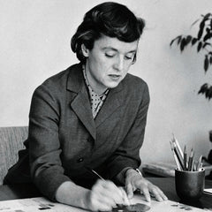 Florence Knoll at Desk
