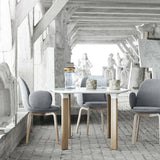 Jaime Hayon Sammen Chairs in Room with Analog Table Fritz Hansen