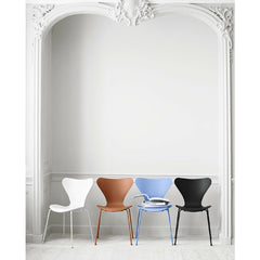 Monochrome Series 7 Chairs, Arne Jacobsen for Fritz Hansen at Palette and Parlor