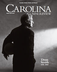 Carolina Alumni Magazine with Palette & Parlor