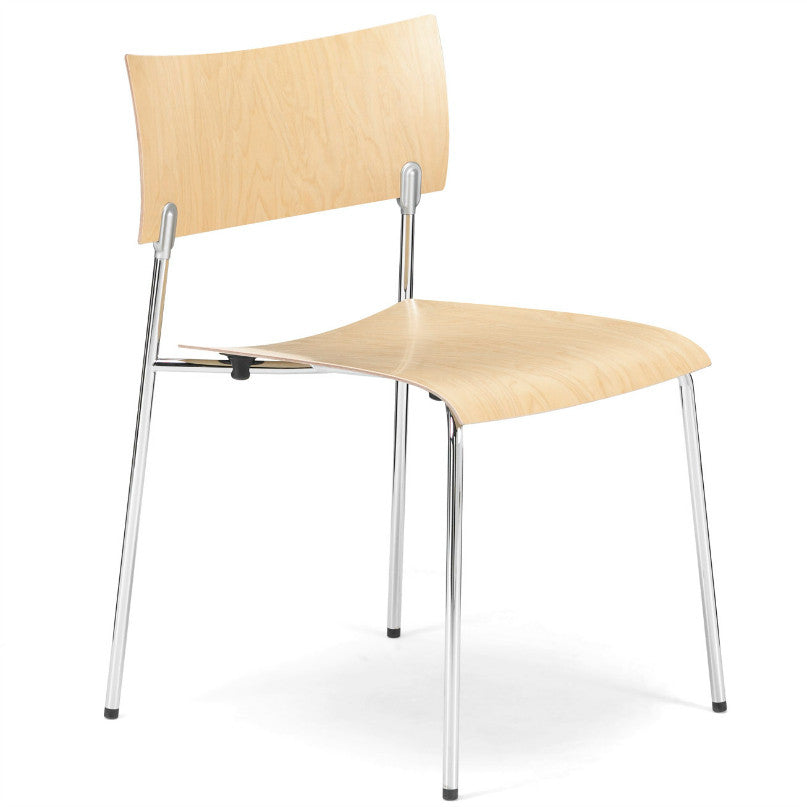 Antti Kotilainen CHIP Armless Chair Birch Knoll