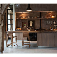 Ethnicraft N3 Counter Stools in Chef's Kitchen