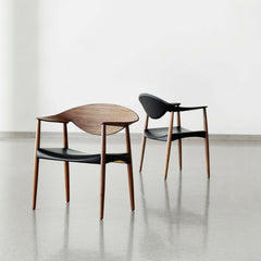 LM92T Metropolitan Chairs by Larsen and Bender Madsen in Room Carl Hansen & Son