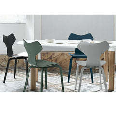 Grand Prix Chairs with Analog Table Jaime Hayon and Arne Jacobsen for Fritz Hansen