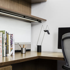 Antenna Design Sparrow Freestanding Light Office Setting Knoll