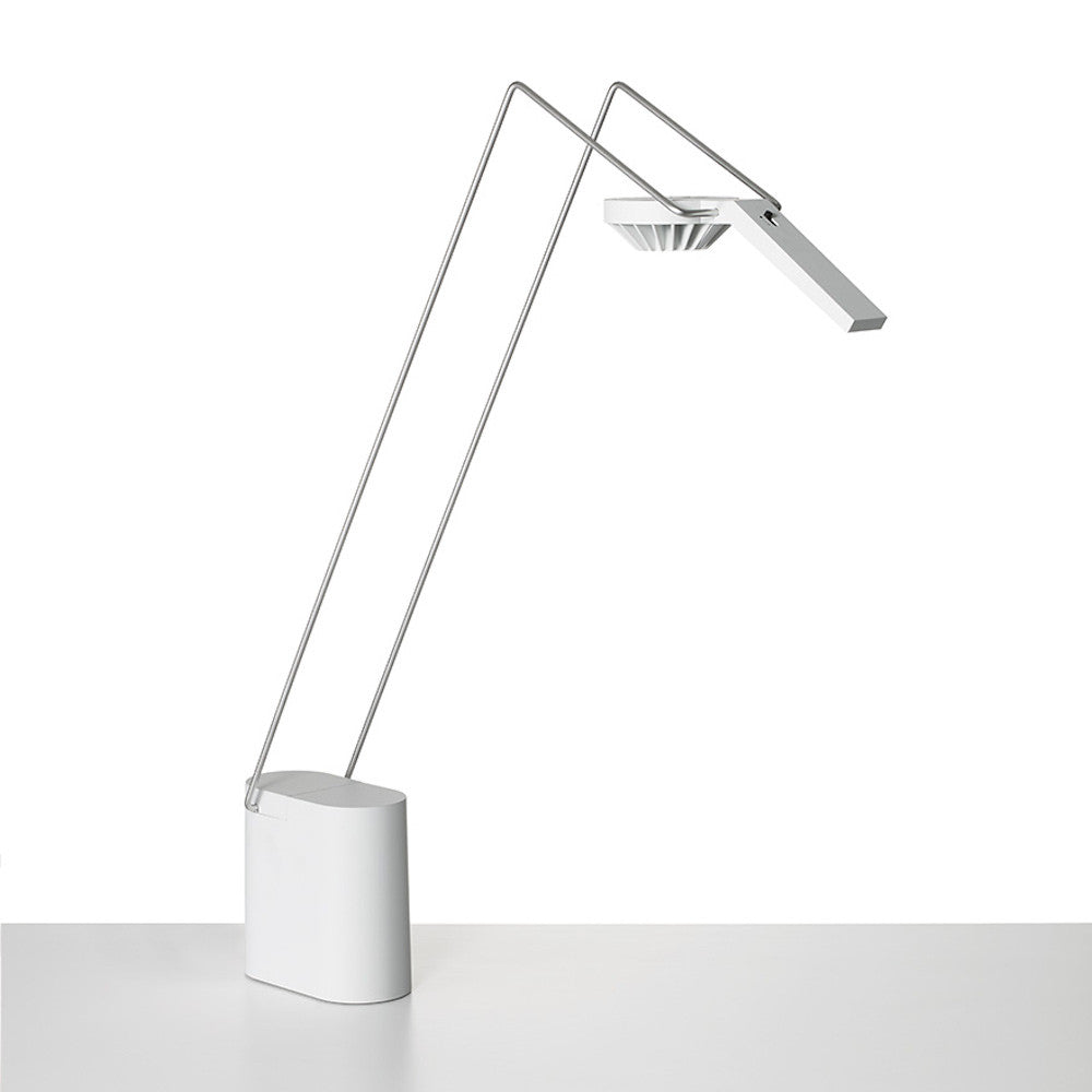 Antenna Design White Sparrow Table Lamp Freestanding Knoll