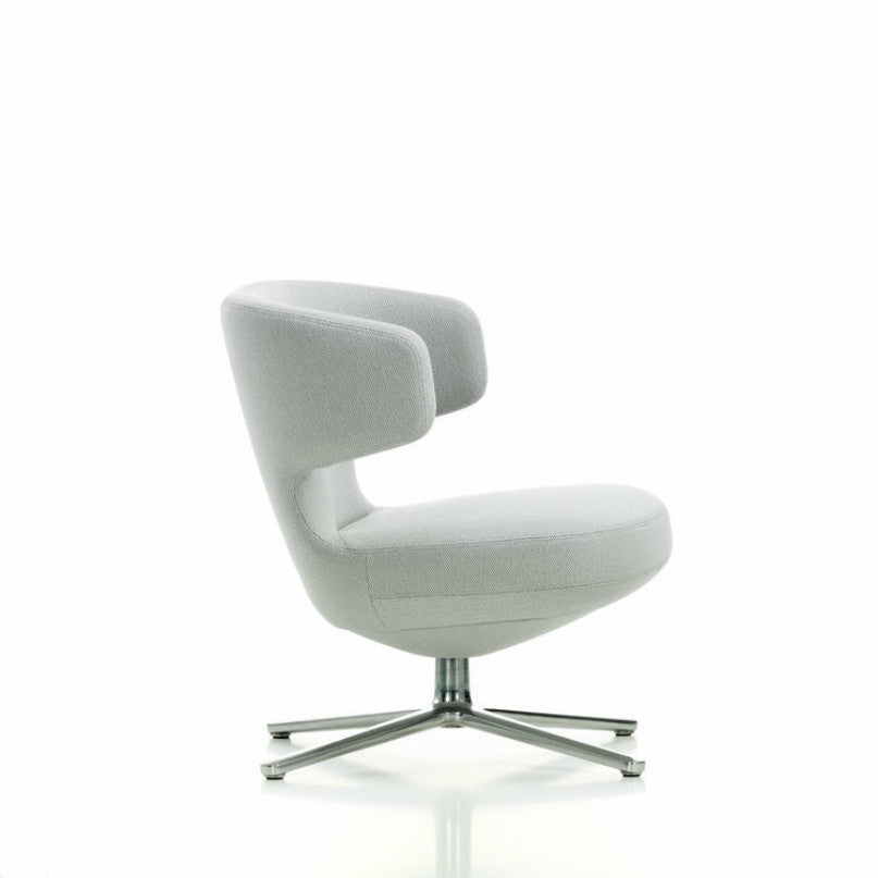 Antonio Citterio Petit Repos Lounge Chair White Vitra