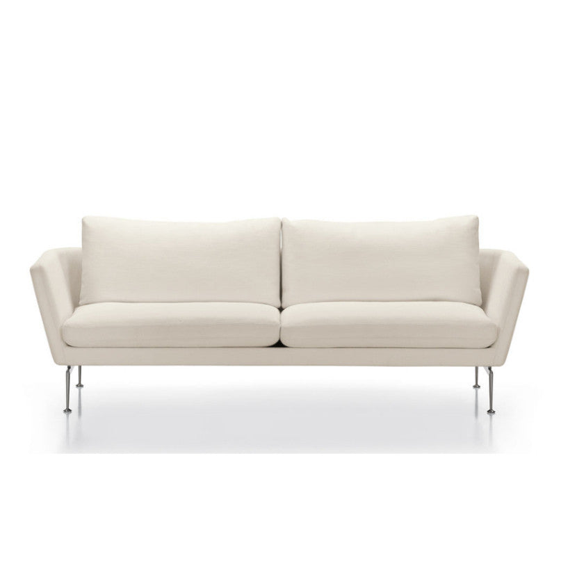 Antonio Citterio Three Seater Classic Sofa White Vitra