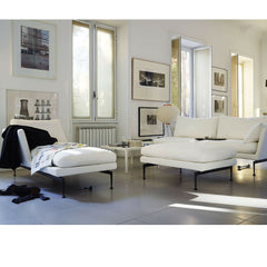 Antonio Citterio Suita Chaise Ottoman Sofa in Room Vitra