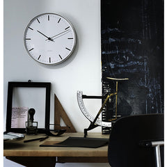 Arne Jacobsen City Hall Wall Clock In Situ by Rosendahl