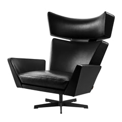 Arne Jacobsen Chair All Black Fritz Hansen