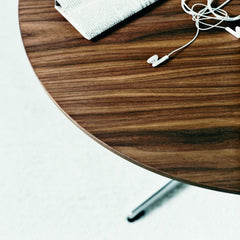 Piet Hein Bruno Mathsson Arne Jacobsen Coffe Table Walnut Veneer Fritz Hansen