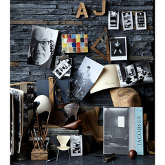 Arne Jacobsen Collage by Ditte Isager for Fritz Hansen