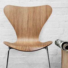 Arne Jacobsen Series 7 Chair Natural Oak Fritz Hansen