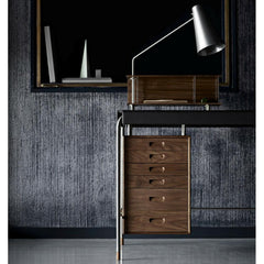 Arne Jacobsen AJ52 Society Desk Closeup