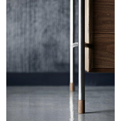 Arne Jacobsen AJ52 Society Desk Leg Detail