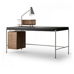 Arne Jacobsen Society Table AJ52 Writing Desk by Carl Hansen and Son